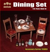 [Diopark][DP35003] 1/35 Dining Set