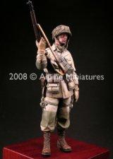 "Alpine Miniatures[AM16004]WW2 US Paratrooper 82nd Airborne ""All American"""