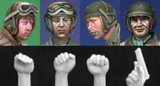 Alpine Miniatures[H002]US Tanker Heads & Hands
