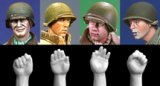 Alpine Miniatures[H004]US Helmet Heads & Hands