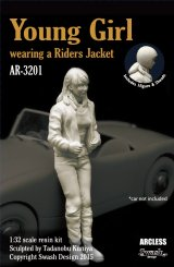 [Swash Design][AR-3201] 1/32 Young Girl wearing a Riders Jacket
