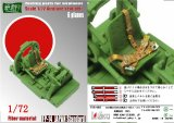 [Kamizukuri] [FP-14] 1/72 Japanese Aircraft Standard Seat Belt  (for 4 Planes)