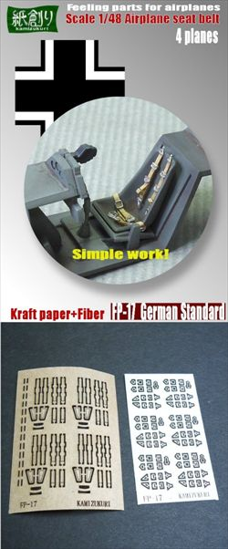 how to make seat belts for model aircraft