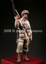 "Alpine Miniatures[AM16004]WW2 US Paratrooper 82nd Airborne ""All American"""