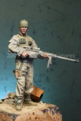 "Alpine Miniatures[AM16008]Modern USMC Sniper ""In Remembrance of Those Who Never Came Home"""