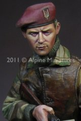 Alpine Miniatures[AM16013]WW2 British S.A.S. Commando
