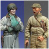 Alpine Miniatures[AM35011]WW2 US Tank Crew Set (2 figures)