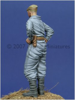 Photo3: Alpine Miniatures[AM35012]WW2 Russian Tanker 1943-45