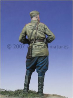 Photo3: Alpine Miniatures[AM35013]WW2 Russian Officer 1943-45