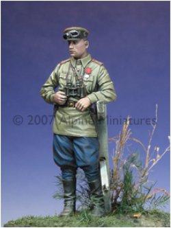 Photo1: Alpine Miniatures[AM35013]WW2 Russian Officer 1943-45