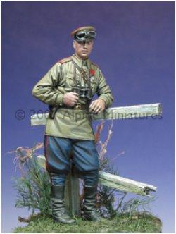 Photo3: Alpine Miniatures[AM35014]WW2 Russian Tank Crew Set 1943-45 (2 figures)