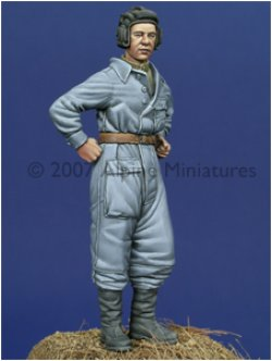 Photo4: Alpine Miniatures[AM35014]WW2 Russian Tank Crew Set 1943-45 (2 figures)