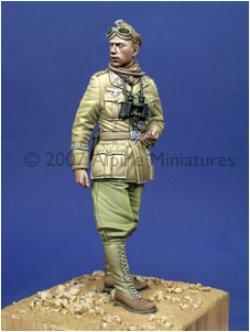 Photo1: Alpine Miniatures[AM35016] DAK Panzer Officer
