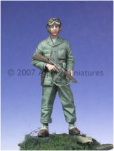 Alpine Miniatures[AM35019]WW2 US Tanker w/ Tommy Gun