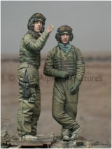 Alpine Miniatures[AM35025]OIF US Tank Crew Set (2 figures)