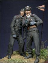 Alpine Miniatures[AM35028]Early WW2 Panzer Crew Set (2 figures)
