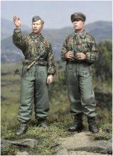 Alpine Miniatures[AM35044]SS Panzer Recon Crew Set (2 figures)