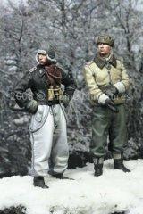 Alpine Miniatures[AM35059]LAH Officers Kharkov Set (2 figures)