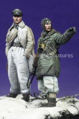 Alpine Miniatures[AM35065]SS Officers LAH Kharkov Set #2 (2 figures)