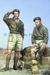 Alpine Miniatures[AM35080]British Armoured Crew Set (2 Figures and Puppy)