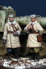 Alpine Miniatures[AM35092]WW2 Russian AFV Crew Set (2 Figures)