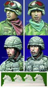 Alpine Miniatures[H007]Modern US Infantry Heads