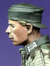 Alpine Miniatures[H001]Panzer Crew Heads & Hands