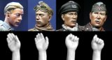 Alpine Miniatures[H003]Panzer Crew Heads & Hands