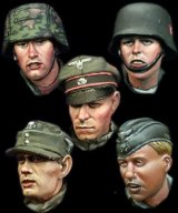 Alpine Miniatures[H011]WSS Heads Set #3