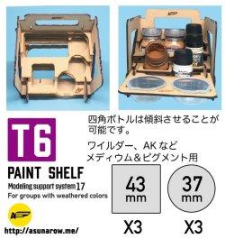 Photo2: ASUNAROW MODEL[17]PAINT SHELF T6