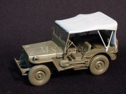 Photo2: [DECAL STAR] [D-016] WILLYS MB TILT COVER EXTENDED