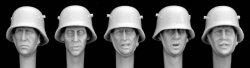 Photo1: Hornet[HGH09]独 WW1 スチールヘルメット(5種)