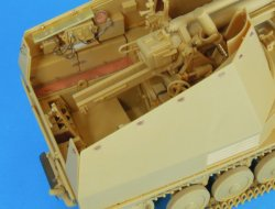 "Photo2: [Passion Models] [P35-139] 1/35 WWII German Sefl-Propelled Howitzer WESPE ""Italian Front"" PE Set"