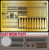 [Passion Models] [P35-071] Sd.kfz.10/5 Update Set Part1-A Slat Mesh Closed ver. Laser Cut slat mesh and PE for DML