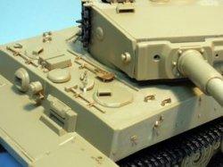 Photo4: [Passion Models] [P35-085B] Tiger I Mid./Late Type Tanmiya kits