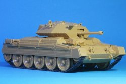 Photo5: [Passion Models] [P35-137] 1/35 CRUSADER Mk.I Mk.II Mk.III PE Set [TAMIYA MM37025,ITALERI 6432/6385]