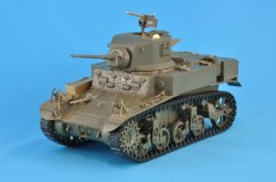 Photo2: [Passion Models] [P35-140] 1/35 U.S. Light Tank M3 STUART Late Production PE Set