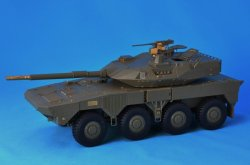 Photo2: [Passion Models] [P35-142] 1/35 JGSDF TYPE16 MANEUVER COMBAT VEHICLE [with Chain]
