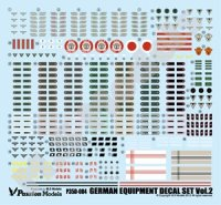 [Passion Models] [P35D-004]1/35 WWII German Army Equipment Decal set Vol.2