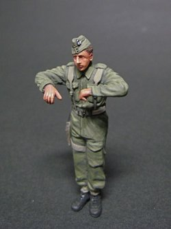 Photo2: [Passion Models] [P35F004] WWII Early British Tank Commander (BEF)