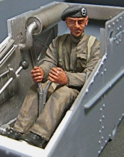 Photo2: [Passion Models] [P35F005] WWII Early British Tank Driver (BEF)