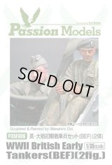 [Passion Models] [P35F006] WWII Early British Tank Crew (BEF) (2 fig.)