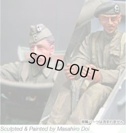 Photo2: [Passion Models] [P35F006] WWII Early British Tank Crew (BEF) (2 fig.)