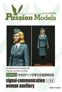 Photo1: [Passion Models] [P35F012] 1/35 WWII Signal -communication woman auxiliary