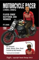 [Swash Design][FT-3505] 1/35 Motorcycle Racer