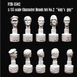 [Swash Design][FTH-3502] Character Head Set No.2
