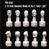 [Swash Design][FTH-3502] Character Head Set No.2