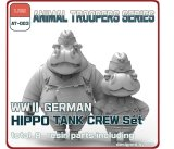 [TORI FACTORY][AT-003]  1/35 WWII German Hippo Tank Crew Set A (2 figures)