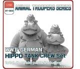 [ZLPLA][AT-003]  1/35 WWII German Hippo Tank Crew Set A (2 figures)