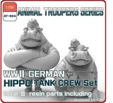 [ZLPLA][AT-004]1/35 WWII German Hippo Tank Crew Set B ( 2 figures)